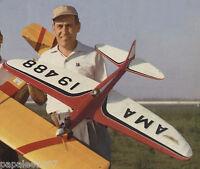 "Model Airplane Plans (UC): Veco THUNDERBIRD I 54"" Stunt for .29-.35 (Bob Palmer)"