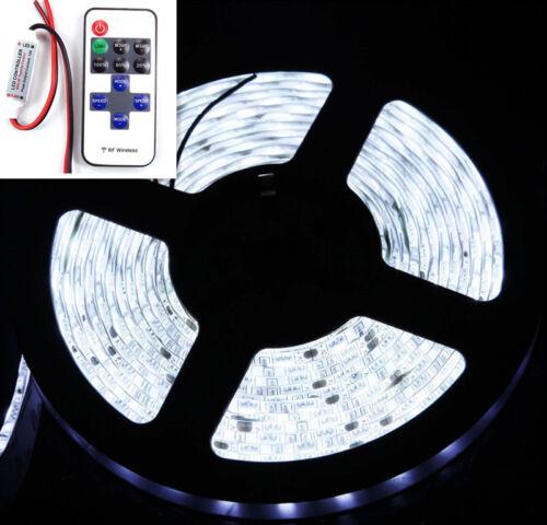 Rv Truck Car// Suv Wireless Waterproof White LED Strip Light 16ft For Boat