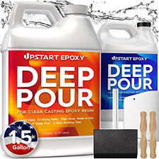 Upstart Epoxy 2 Deep Pour Epoxy Resin Kit Diy Made In Usa Super Ultra Clear