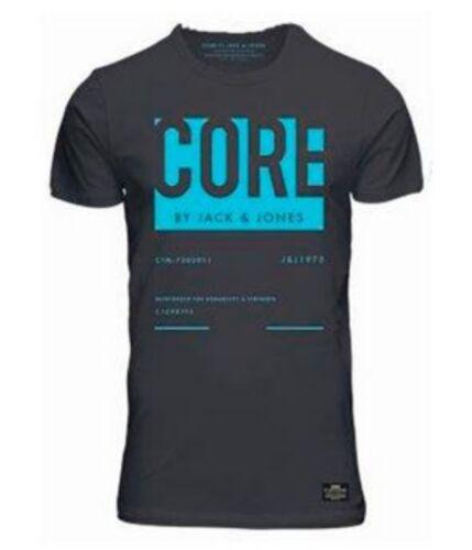 JACK/&JONES Coton Pour Homme Slim T-shirt T Shirt Tailles S-XXL