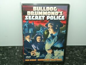 Bulldog-Drummonds-Secret-Police-DVD-NEW-SEALED