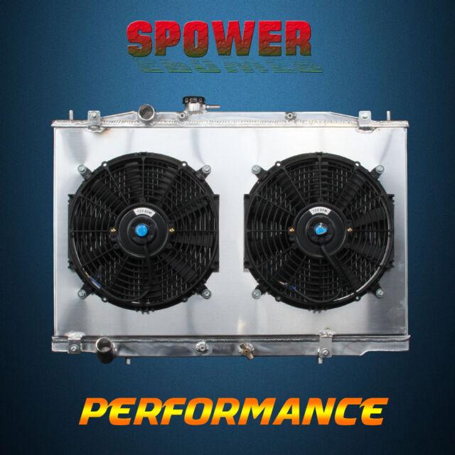 2 row core aluminum radiator fan shroud for acura tl v6 3 2l j32a3 rh ebay com 2004 Acura TL 2002 Acura TL
