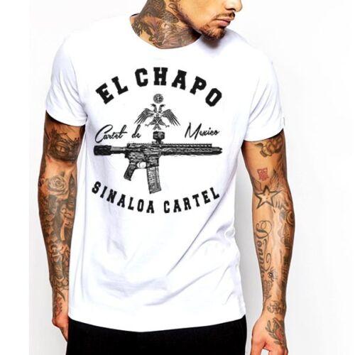 new cotton tee Weed T-shirt Sinaloa movie hip hop Mexico Columbia