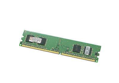 Kingston 4GB PC2-4200 DDR2-533MHz non-ECC Unbuffered CL4 240-Pin DIMM 2X2GB