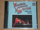 PREMIATA FORNERIA MARCONI (PFM) - LIVE IN U.S.A. - CD SIGILLATO (SEALED)