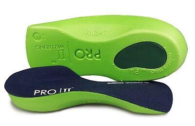 Pro11 insertos de zapatos ortótica bienestar Slimfit Verde
