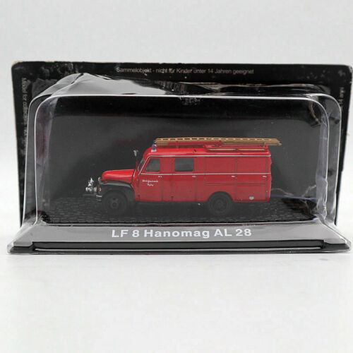 Atlas 1//72  LF 8 Hanomag AL 28 Fire Engine Diecast Models Collection Miniature