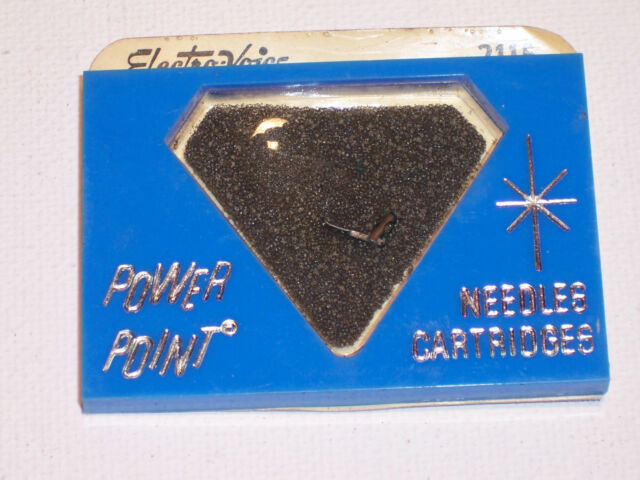 NOS Electro-Voice EV 5346 Phonograph Stylus Cartridge Needle Astatic 1109