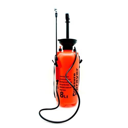 Handsprüher Pflanzensprüher Drucksprüher 8 Liter Hochdruckspritze Pumpsprüher