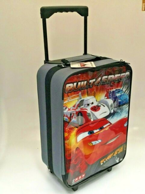 89bb461d4a9e Disney Pixar Cars Rolling Luggage Travel Suit Case Lightning Mcqueen