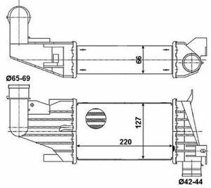 Radiateur-Redroidisseur-Echangeur-de-Chaleur-pour-Opel-Astra-H-A04-L35-L70