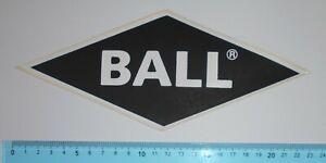 ADESIVO STICKER VINTAGE AUTOCOLLANT AUTOCOLLANT BALL JEANS BLACK ANNI'80 22x9 cm