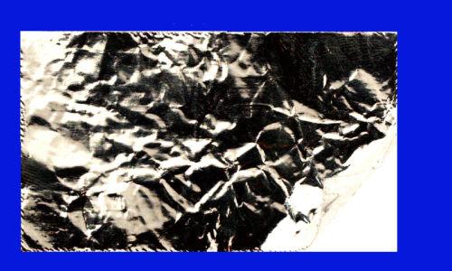 Ultrafeine Alu Folie, weich selbstklebend, nur 0,03 mm dick, 500x500mm