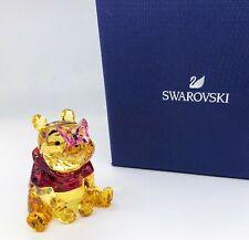 SWAROVSKI Disney Winnie the Pooh w Butterfly Crystal Figurine Display 5282928