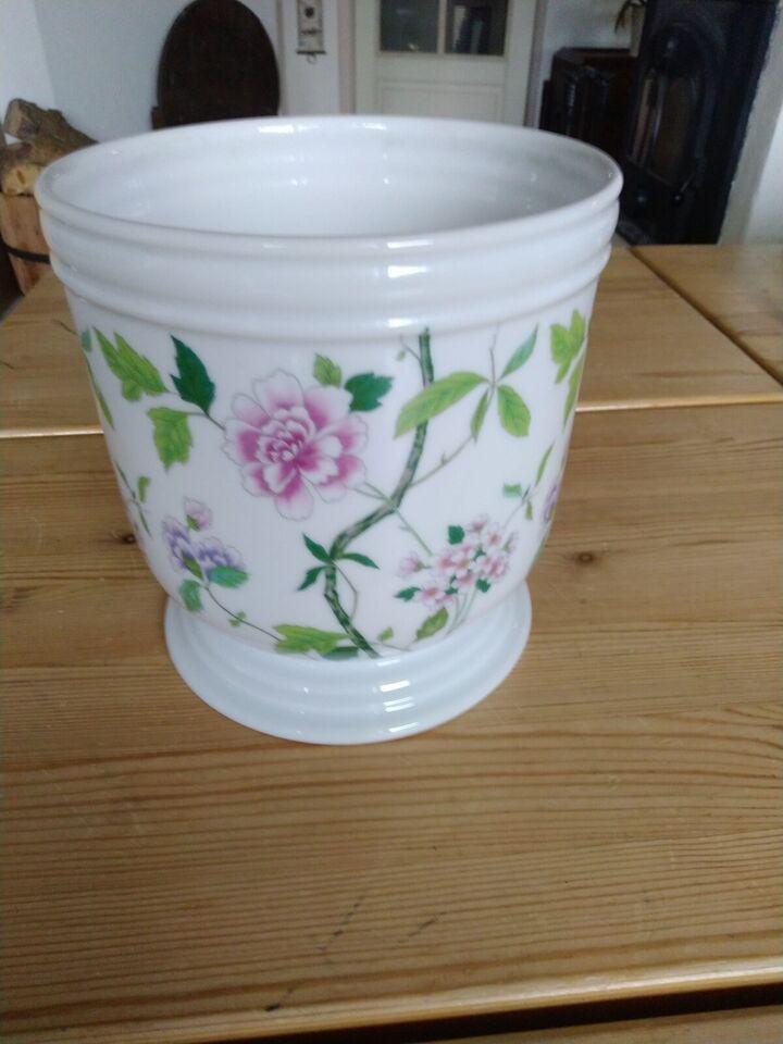 Porcelæn, Fin gammel urtepotteskjuler, Heinrich germany