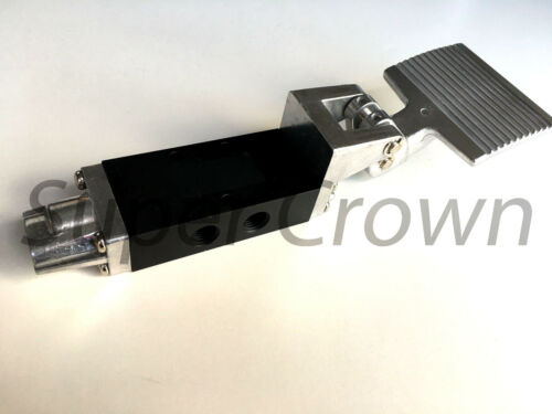 """Foot Pedal Control Valve 2 Position 5 Port 3//8/"""" Thread Air Pneumatic Switch 403"""
