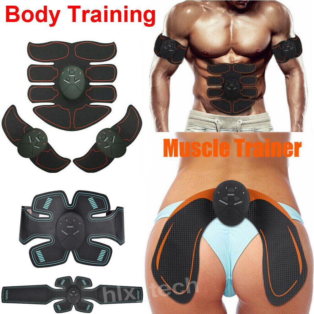 20Pcs ABS Hip Arm Buttocks Trainer Gel Pads Sticker EMS Fitness Exerciser