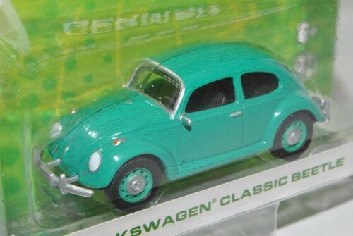 VW Volkswagen Käfer Grün 1//64 Greenlight Modell Auto mit oder ohne individiuel..