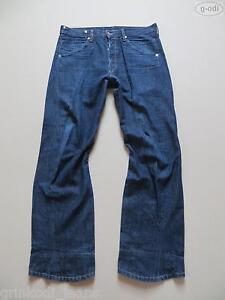 Levi-039-s-003-Engineered-Jeans-Hose-W-33-L-32-TOP-Der-034-Verdrehte-034-Denim