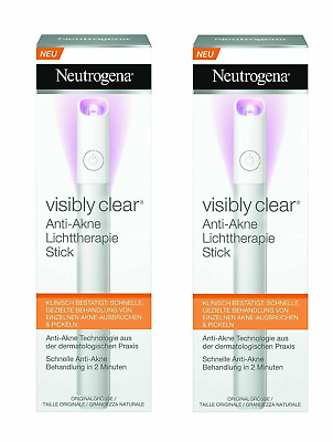 Neutrogena Light Therapy Visibly Clear Acne Spot Treatment Stick