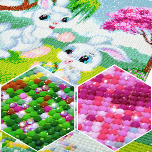 5D Full Diamond Painting DIY Ice Fire Angel Decor Embroidery Kits Gift