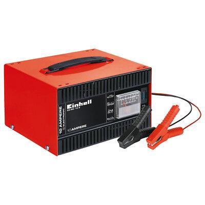 EINHELL CC-BC 10 Batterie-Ladegerät Autobatterie 12V Tragegriff Schutzisoliert