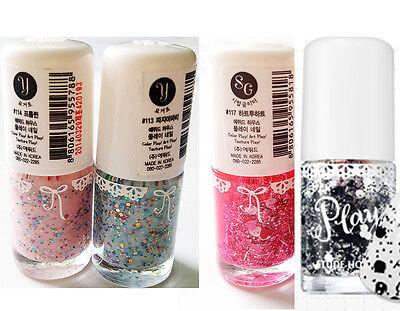 Etude House play nail daily color Nail polish glitter manicure shiny nail new8ml