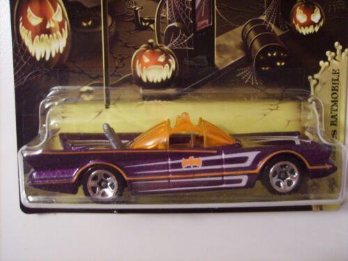 Hot Wheels 2012 Halloween Kroger 3//5 1966 TV Series Batmobile Batman 1//64