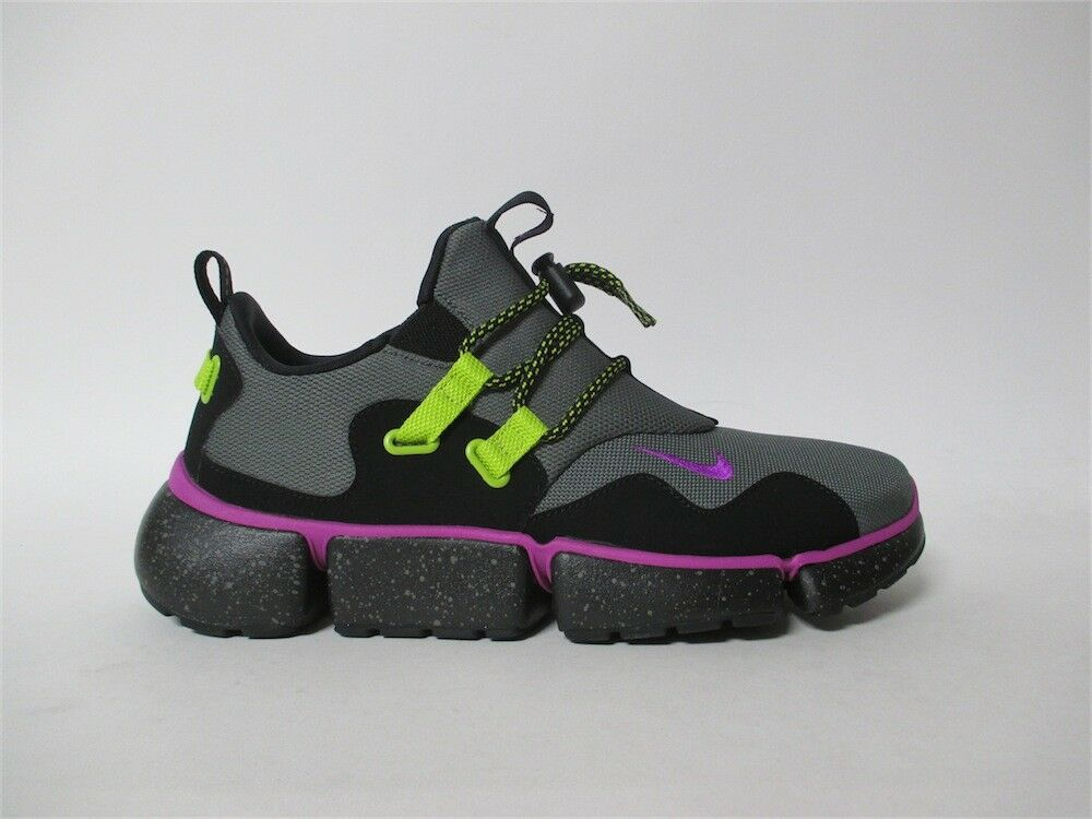 Nike Pocketknife DM SU River Rock Biolet Nero Sz 9 AH9709-001