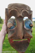 XLG Antique Northwest Coast Canada Indian Kwakiutl People Wasp Spirit Mask!