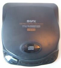 Vintage GPX C3855 Portable CD Player Black Gran Prix Desktop-No Anti Skip Works