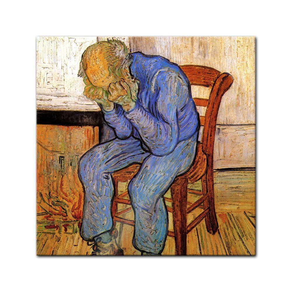 IMAGE Gogh-Vieux Vincent Van Gogh-Vieux IMAGE Maître-Au seuil de l'éternité 8ad083