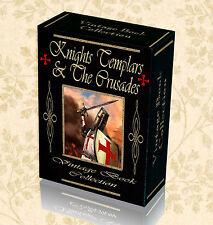 140 Vintage Books Knight Templar The Crusades Malta History Freemasons DVD 270
