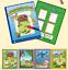 Set 4 Magic Water Paint Coloring Books Kids Reusable Educational Drawing Toys
