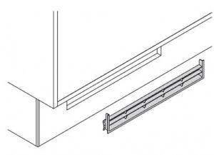 L ftungsgitter f r k chensockel abluftgitter 7 mm zubeh r for Luftungsgitter kuhlschrank