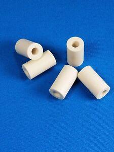 "2 Juma 1.25/"" Ivory Colored Tube Ferrules Pool Cue Ferrule Material .312 i.d."