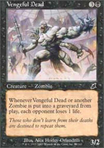 4 Vengeful Dead ~ Near Mint Scourge 4x x4 Playset UltimateMTG Magic Black Card