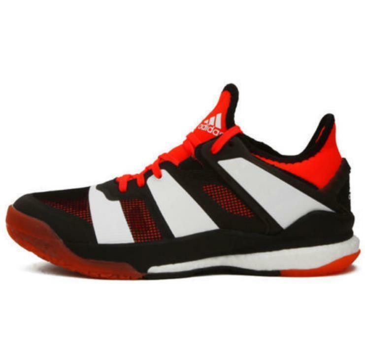 New Adidas Stabil X Men Badminton Running Indoor shoes Sneakers - Black(BY2521)