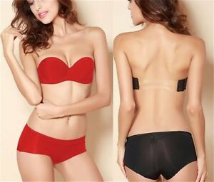 774f559c12 Image is loading Wedding-Multiway-Underwear-Push-Up-Strapless-Backless- Invisible-