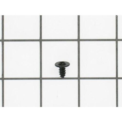 WB1K5162 GE Screw-Black Genuine OEM WB1K5162