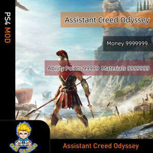 Assassin-039-s-Creed-Odyssey-PS4-Mod-Max-Level-Money-Skill-points-All-resources