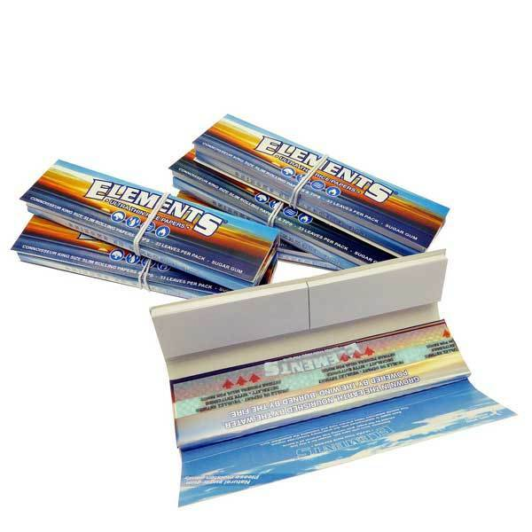 Elements Connoisseur Kingsize Slim Rolling Papers /& Tips Multi Listing