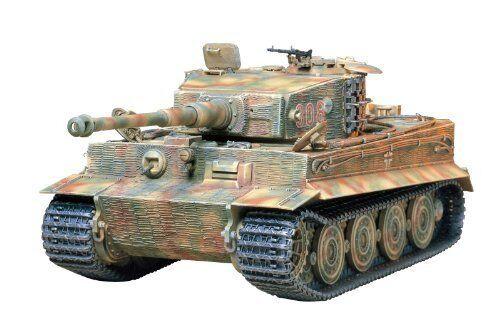 Tamiya 1 35 Alemán Tiger i Tanque Última Versión Kit de Modelismo Nuevo de Japón