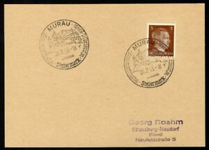 Allemagne-n-706-Yv-cachet-WW2-MURAU-Timbre-Allemand-Hitler-Mi-n-782