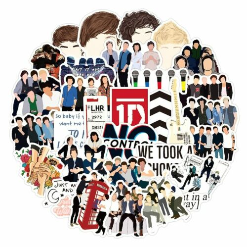 Details about  /30pcs Popular Singers One Direction Graffiti Stickers For Skateboard Decal Toy
