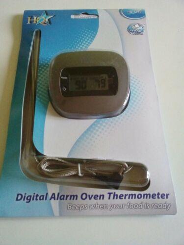Numérique Koch /& viande Thermomètre ofenthermometer avec fonction alarme