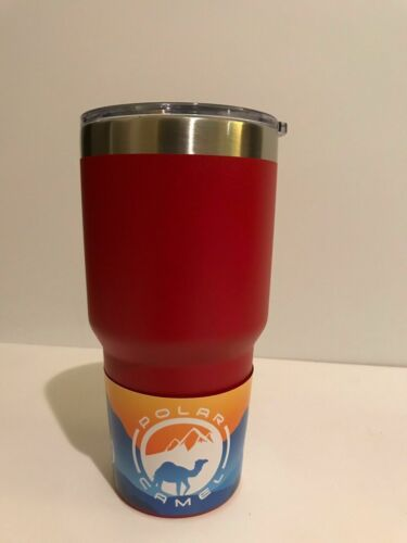 Polar Camel 30 oz Stainless steel Vacuum Insulated Tumbler w//Clear Lid