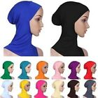 Muslim Women Cotton Inner Hijab Caps Islamic Underscarf Hats Ninja Hijab Soft