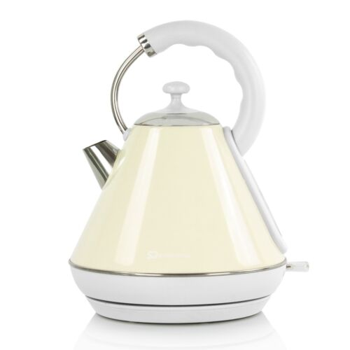 1.8L Cordless Electric Kitchen Jug Kettle Fast Boil Overheat Protection 2200W