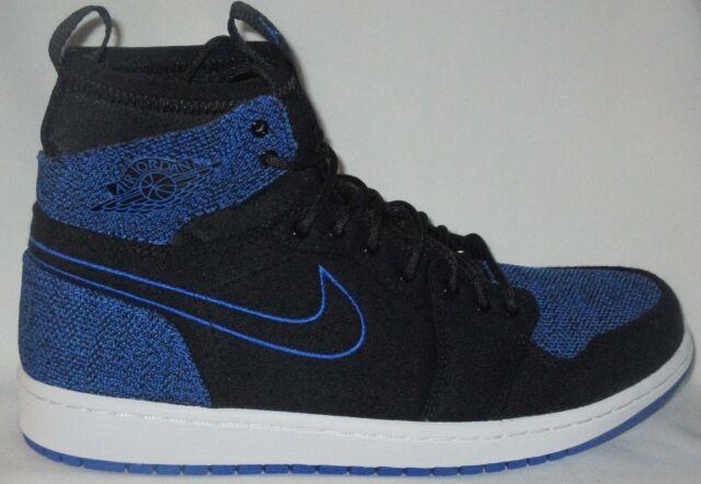 Nike Air Jordan 1 Retro Ultra High Mens Shoes Black Royal Size 10 Banned  Satin c6e4ba8a9d